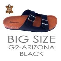 Jual BIG SIZE Sandal Kulit pria Yamanori ukuran JUMBO 44 45 46 47 48 Birken Murah