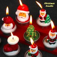 Jual Jual.. Christmas Candle ( Lilin edisi natal, 1 kotak isi 3 pcs lilin ) Murah