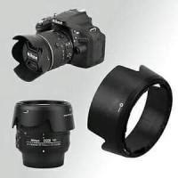 Lenshood Lens Hood Hood Lensa Pelindung Lensa HB For Nikon AF-S DX