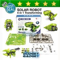 Jual Murah ! 4 in 1 Transforming Solar Robot Science & Education DIY Toys K Murah