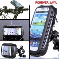 Jual PALING MURAH Splashproof HP Case Holder for Bicycle and Motor Bike Sar Murah