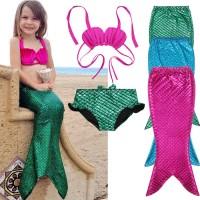Jual SW1709 - Baju Renang Swimsuit Kostum Anak Putri Duyung Mermaid SHELL Murah