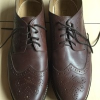 Tuf Shoes Riverview Brown Wingtip Brogue Shoes Size 43 Original
