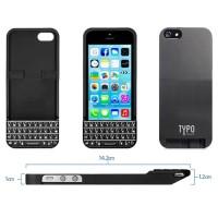 Jual Typo Keyboard Case for iPhone 5/5s - Black Murah