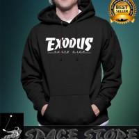SWEATER HOODIE JUMPER - EXODUS SKATE SHOP - ALMIRA COLLECTION