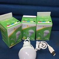 Jual Ready   Lampu Bohlam USB Kabel 7 watt   Grosir Termurah Murah