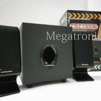 Jual Speaker Aktif Multimedia Simbadda CST1300N USB FM RADIO Murah