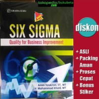 Six Sigma, Quality for Business Improvement - Amin Syukron
