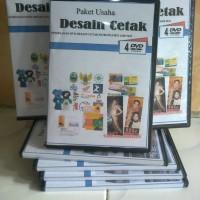 Paket DVD Desain Cetak Undangan, Banner dll untuk Usaha Percetakan