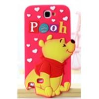 Jual Cute Cartoon TPU Case for Smartphone - iPhone SE/5/5s - Maroon Murah