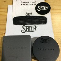 Pomade Smith Clayton Premium Clay Matte Waterbased 1.9 oz (FREE SISIR)
