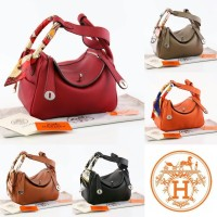 Tas Hermes Lindy 25 Togo Leather Semi Premium 8819