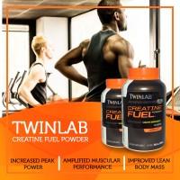 Twinlab Creatine Fuel Powder BPOM 300 gram Suplemen Fitnes Massa Otot