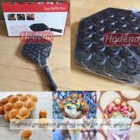Panci Anti Lengket Egg Waffle Hongkong Eggettes Pan Maker Hodeno