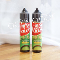Jual KicKass Matcha Green Tea Premium e Liquid Juice Vape KIT KAT KICK ASS Murah