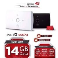 Jual MIFI 4G LTE Huawei E5673 UNLOCKED Free Telkomsel 14gb GRS RESMI Murah