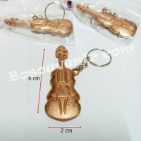 Jual souvenir gantungan kunci biola / souvenir pernikahan Murah