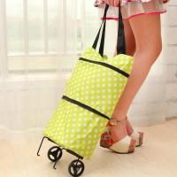 Jual Diskon Tas Troli Lipat Troly Shopping Foldable Trolley Bag Cart Murah