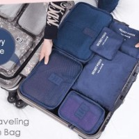 Jual Diskon Travel Bag 6In1 Set Storage Baju Kotor Organizer Koper Limited Murah
