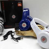 Jual Paling Laris JBL S460 Wireless Headseat Bluetooth Stereo Micro SD, FM Murah