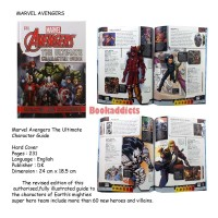 Avengers THE ULTIMATE character guide book