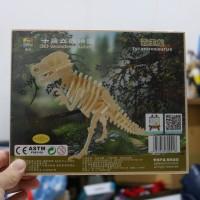3D Wood Puzzle Tyrannosaurus | Puzzle Kayu