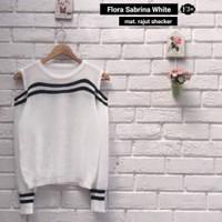 Jual BEST SELLER Flora Sabrina Putih Murah
