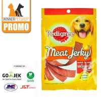 Pedigree Meat Jerky 80gr Snack Anjing