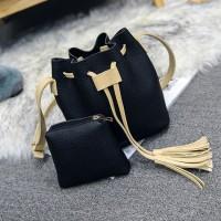 Jual Handbag Serut 2 IN 1 - LW001 Murah