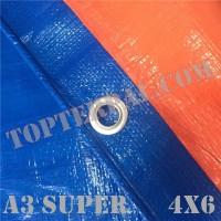 Terpal Plastik A3 SUPER Ukuran 4x6 meter Murah
