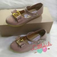 Jual sepatu anak BALLERINA Brown#ballerina shoes#sepatu ball Limited Murah