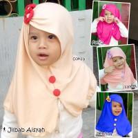 Jual Jilbab Aisyah / Jilbab Bayi / Jilbab Anak Murah