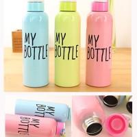 Jual My Bottle Korea Botol Minum Tempat Minum Botol Stainless 650 ML  Murah