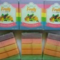 Jual Sabun pemutih kulit / Fruitamin soap 10 in 1 by Fruity BPOM Murah