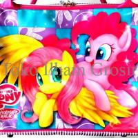 Jual NEW Tas Travel / Tas Renang / Koper Anak (Bisa Selempang) Little Pony  Murah