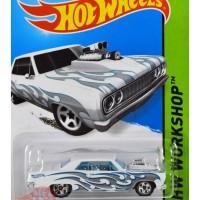 Hw Hot Wheels - '64 Chevy Chevelle Ss Putih / White Mtf36