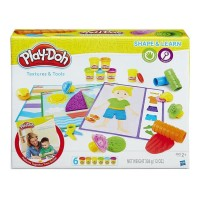 Jual Play Doh Shape and Learn Textures and Tools - B3408 Murah