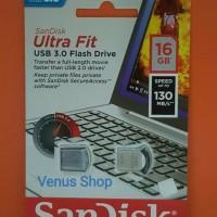 Jual SANDISK FLASHDISK 16GB ULTRA FIT CZ43 USB 3.0 / ULTRA FIT 16 GB CZ 43 Murah