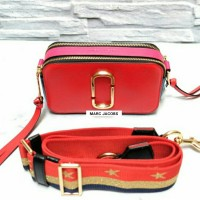 JUAL TAS MARC JACOBS SNAPSHOT CAMERA BAG RED ORIGINAL