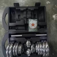 Jual Barbel / Dumbel / Dumble Chrome York Set 20kg Murah