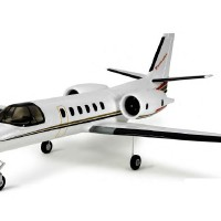 Jual RC Plane Dynam Cessna 550 Turbo Jet with retract Murah