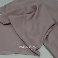 Cream Polos Jilbab / Hijab segi empat