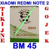 Jual Baterai Batrai Batere Batre Xiaomi Redmi Note 2 BM45 Rakki Panda Murah