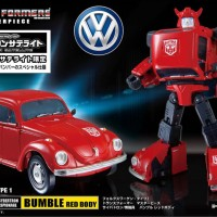 Takara Tomy MP-21R - Masterpiece Red Bumblebee Transformers VW