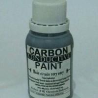 CARBON CONDUCTIVE PAINT / CAT KARBON PENGHANTAR ARUS LISTRIK5 50 GRAMS