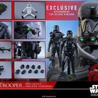 Jual HOT TOYS Rogue One: A Star Wars Story Death Trooper Deluxe Version 1/6 Murah
