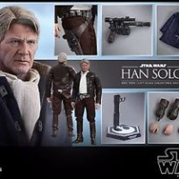 Jual HOT TOYS Star Wars The Force Awakens Han Solo Harrison Ford 1/6 Figure Murah
