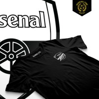 Jual Kaos Distro Bola - Arsenal - AFC BADGE Murah