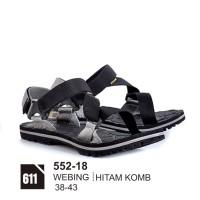 sandal gunung pria, sandal gunung keren, sepatu sandal bagus 552-18