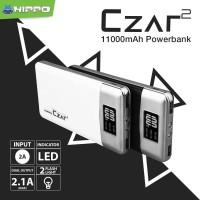 Jual Hippo Power Bank Czar 2 11000 mAh Original Termurah Berkualitas Murah